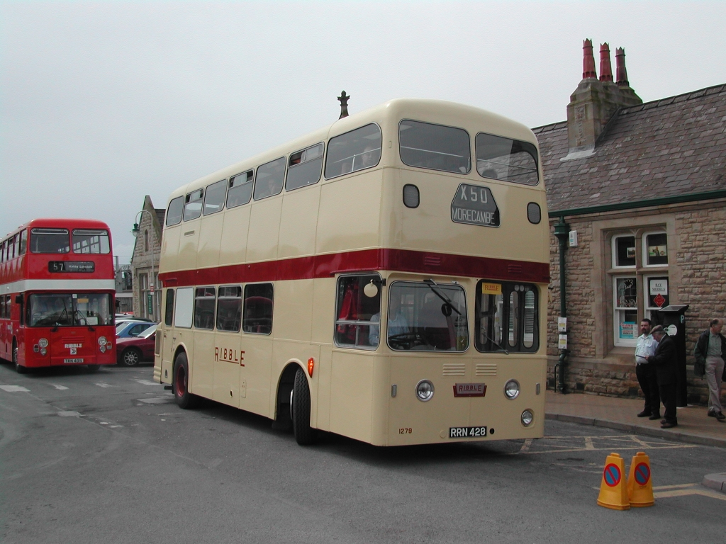 1279 at a Carnforth running day
