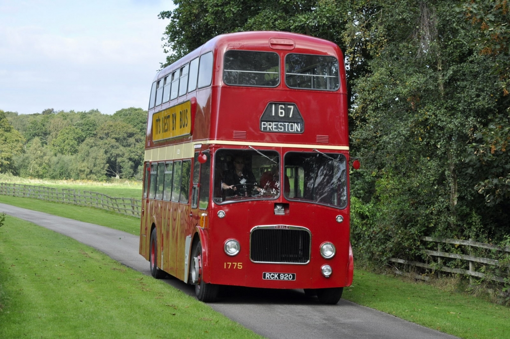 PD3 1775 on the driveway to Lytham hall