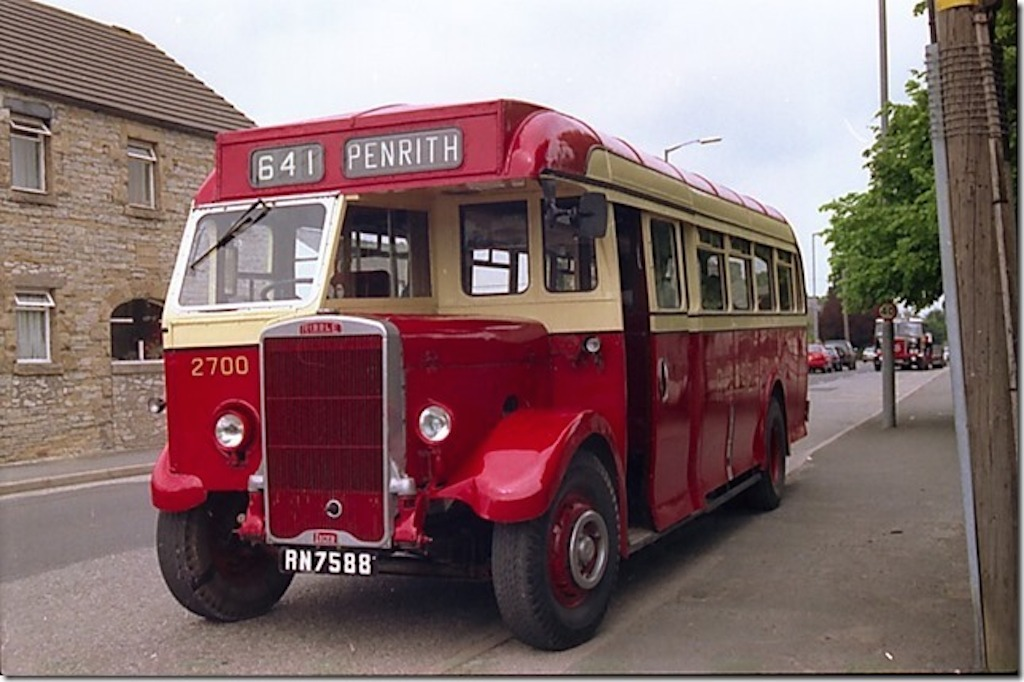 Showing the 1950 era livery and In the guise of 2700