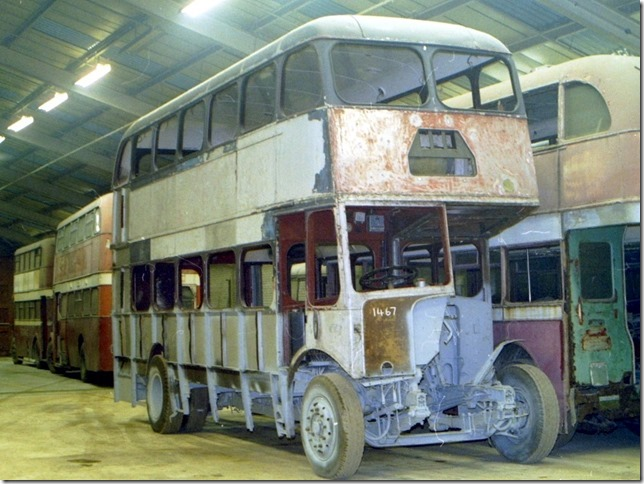 1467 prior to restoration of bodywork