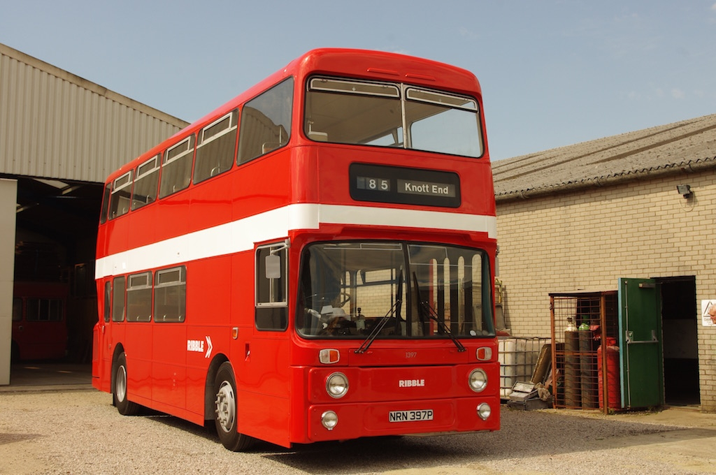 Fully restored 1397 poses at our depot