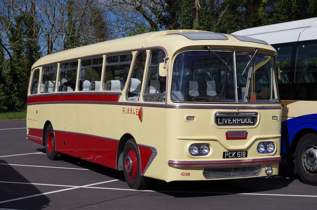 In 2013 Cavalier 1036 attended the ITH Rally at Cultra. May not be as sunny in Manchester in December