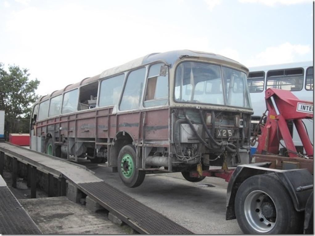 726 awaits restoration