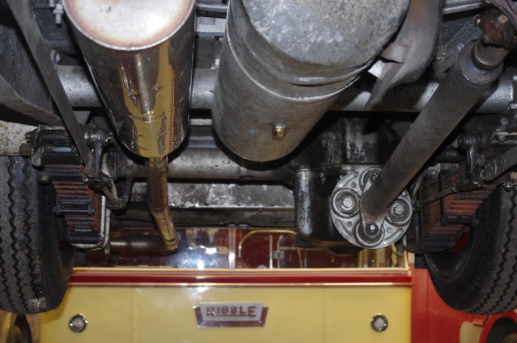Underneath 2057 showing new exhaust, <a href=